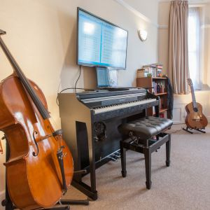 Our Piano rooms - The Library
