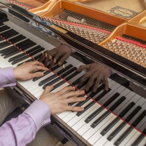 A piano that is just inspiring