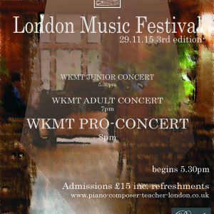 Piano lessons in London towards the best music festivals