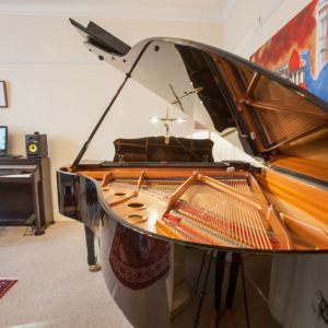 A piano to love