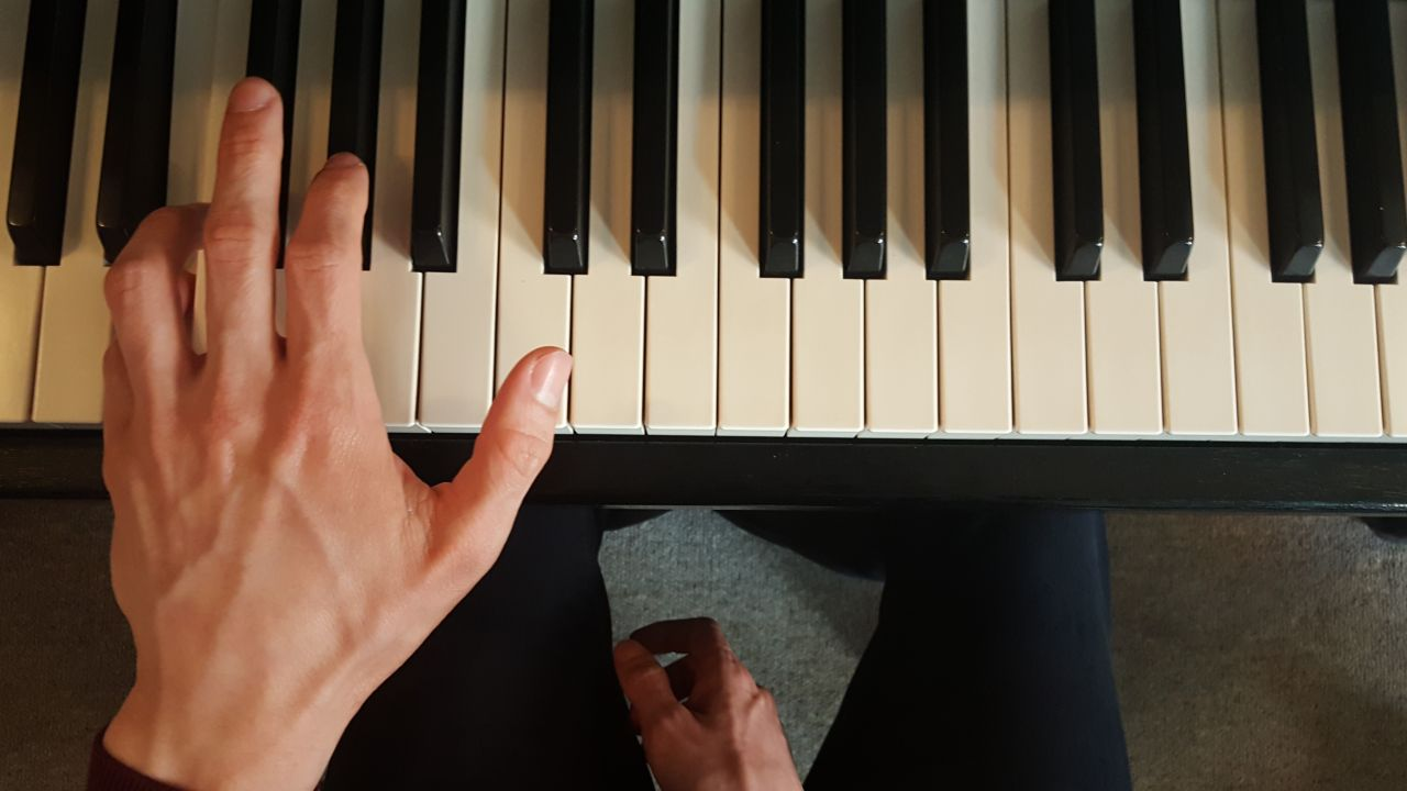 Piano technique: The placement