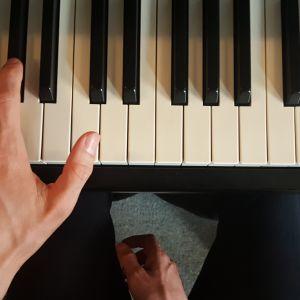 Piano technique: The placement