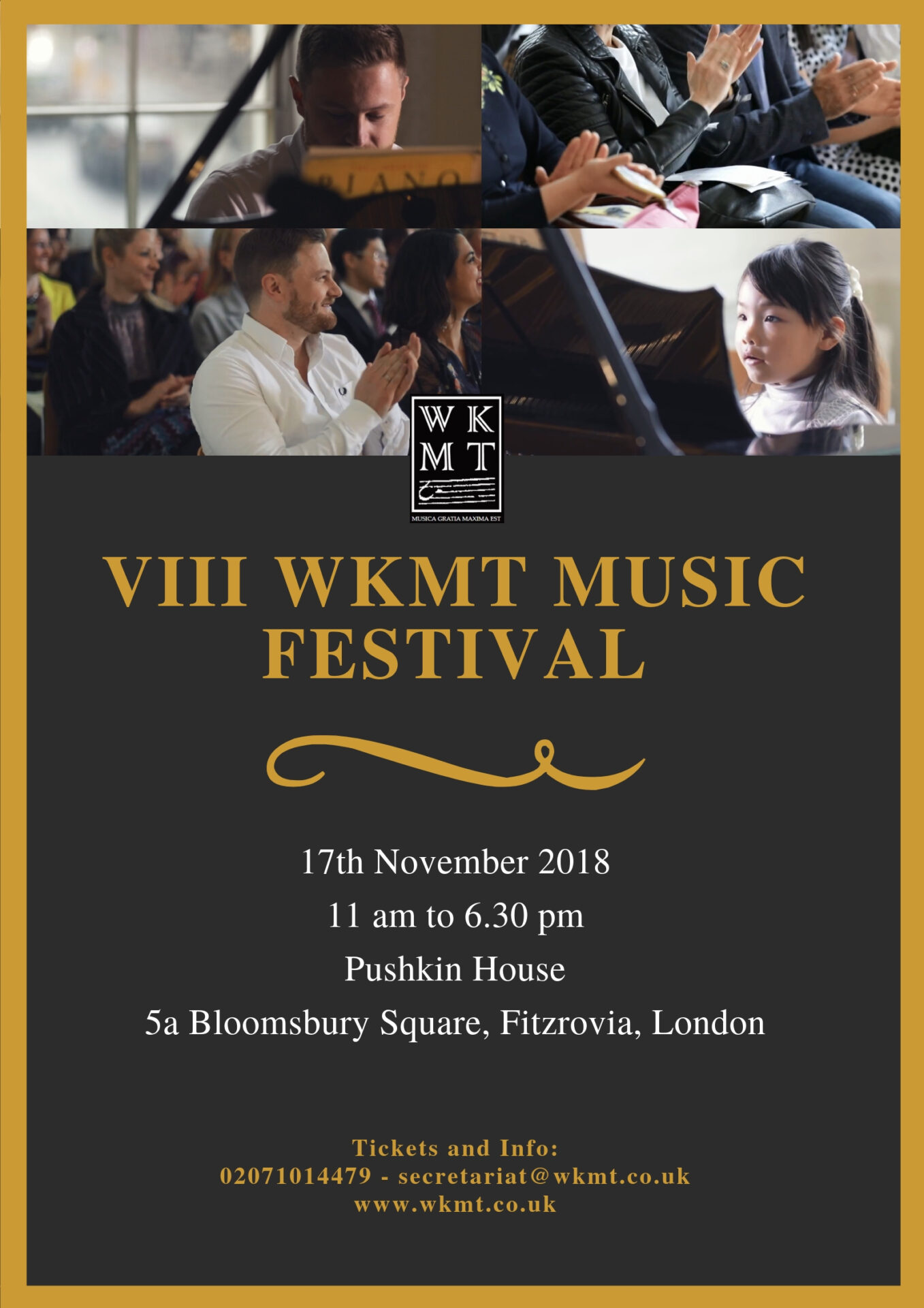 Our VIII London Piano Festival