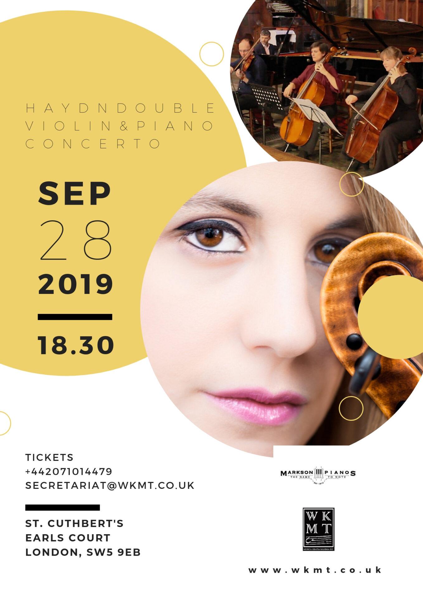 Our next WKMT Concert in September
