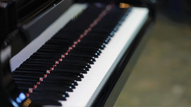 Piano training towards Grades